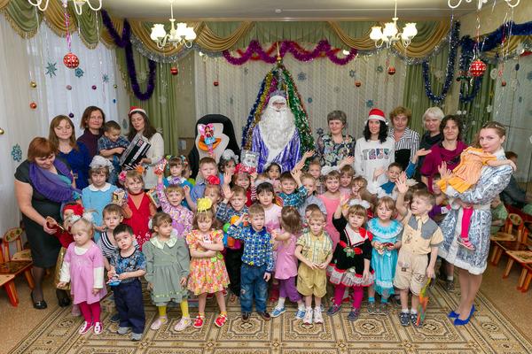 Сотрудники «Газпром промгаз» спедагогами ивоспитанниками Мценского детского дома